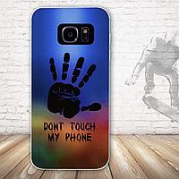 Оригинальный чехол бампер для Samsung Galaxy S7 с картинкой Рука