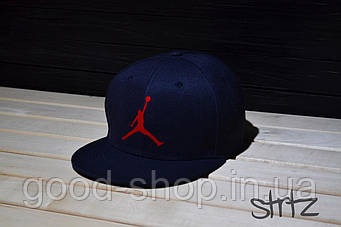 Снепбек Jordan синий
