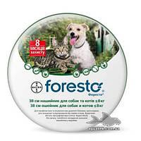 Ошейник Bayer Foresto® (Форесто) от блох и клещей 38 см