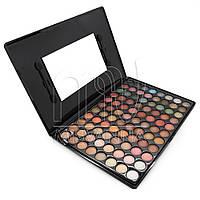 Палитра пастельных теней для макияжа 88P07, 88 образцов