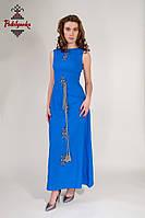 Жіноча сукня Етно синя