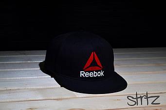 Снепбек Reebok черный