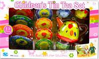 Детский чайный сервиз нержавеющий 15 предметов (S053E)