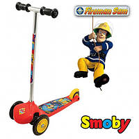Самокат трехколесный Пожарный Сэм Smoby 450152