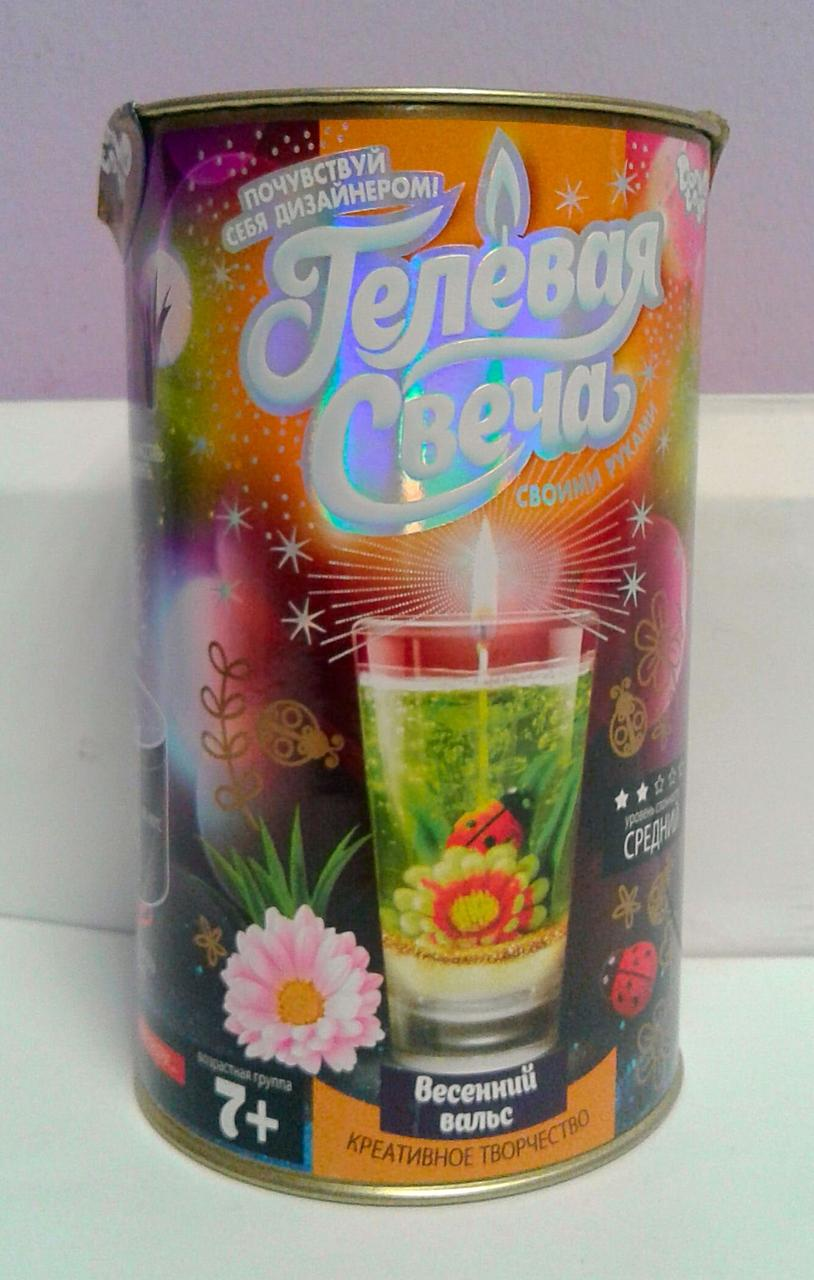 Гелева свічка: Весняний вальс GS-01-05 Danko-Toys Україна