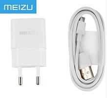Сетевое зарядное устройство 2 в 1 для Meizu U20
