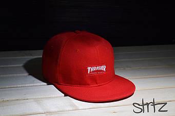 Снепбек Thrasher красный (люкс копия)