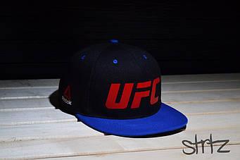 Снепбек UFC черный с синим