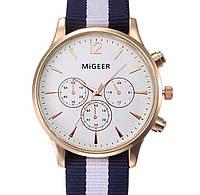 Кварцевые часы MiGeer (white-gold) - гарантия 6 месяцев
