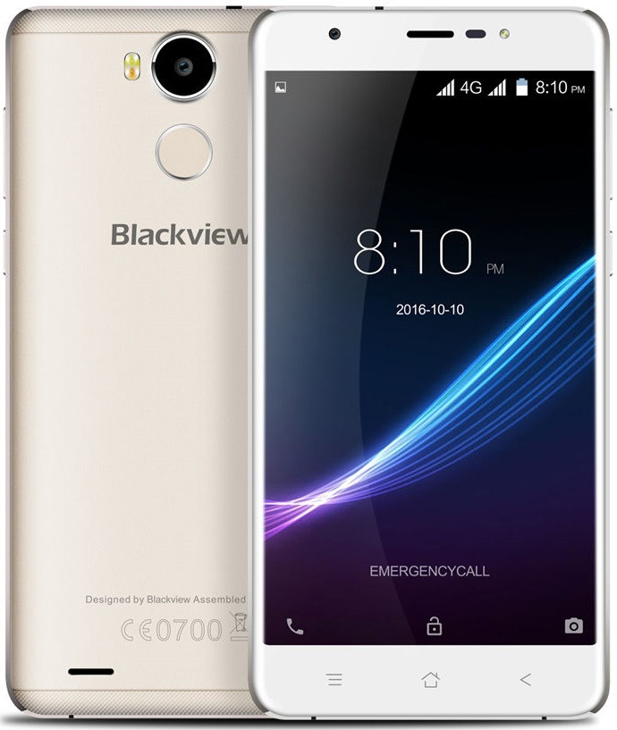 "Blackview R6 Champagne Gold 3/32 Gb, 5,5"", MT6737, 3G, 4G"