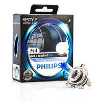Автолампы H4 Philips COLOR VISION Blue 12V 60/55W