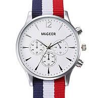 Часы MiGeer (white-silver)