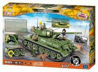 Конструктор COBI Четыре танкиста и собака, 530  деталей COBI-2486