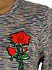 Свободное женское платье меланж (в расцветках 42-48), фото 5