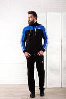 Спортивный костюм 231028 (Черный/Электрик)