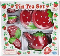 Детский чайный сервиз нержавеющий 8 предметов (S084X)