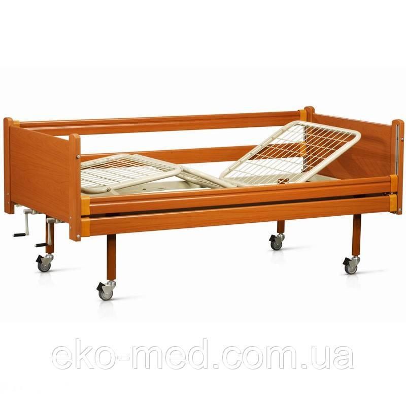 Кровать медицинская деревянная трехсекционная OSD 94 (Италия)