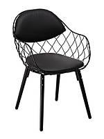 Кресло Domini ВИКИ (чёрный)
