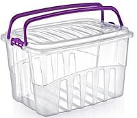 Контейнер для пикника Irak Plastik Ирак Пластик 24л прозрачный