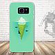 Бампер силиконовый чехол для Samsung Galaxy S7 edge с картинкой Девушка с тату, фото 4