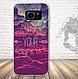 Бампер силиконовый чехол для Samsung Galaxy S7 edge с картинкой Девушка с тату, фото 2