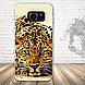 Бампер силиконовый чехол для Samsung Galaxy S7 edge с картинкой Девушка с тату, фото 6