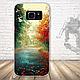 Бампер силиконовый чехол для Samsung Galaxy S7 edge с картинкой Девушка с тату, фото 8