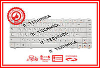 Клавиатура LENOVO Y460 Y550 Y560 белая