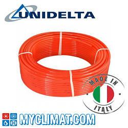 Трубы для теплого пола Unidelta Pex/EVOH Triterm Rosso 16x2.0
