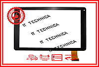 Тачскрин 257x157mm 50pin RP-461A-10.1-FPC-A1 Черны