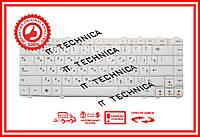 Клавиатура Lenovo IdeaPad B460, V460, Y450, Y460, Y550, Y560 Series белая RU/US