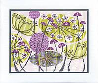 Набор для вышивания крестом Crystal Art Солнечное соцветие