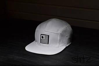Пятипанельная кепка Carhart белая