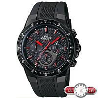 Спортивные мужские часы Casio EF-552PB-1A4VEF, Оригинал. Кварцевые часы.