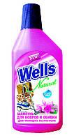 Шампунь для чистки ковровых покрытий моющими пылесосами Wells, 500 мл