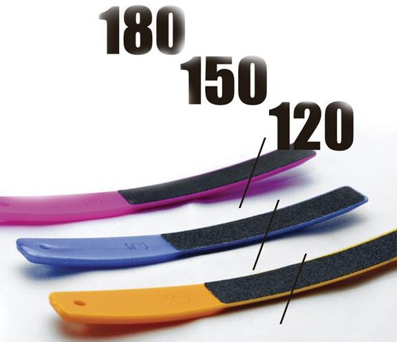 Набор пилок для ногтей (пластиковые, 3 шт.) 120/150/180 арт.3-14 (120/150/180) (ПЛ-01)