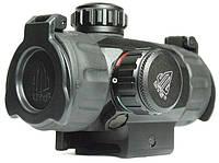 """Коллиматорный прицел Leapers 5TH GEN 1x34 3"""" Sub-compact ITA, закрытый на Picatinny, подсветка"""