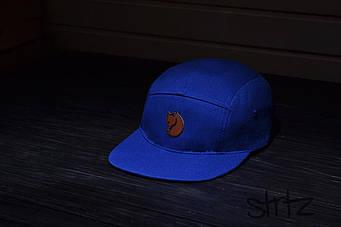 Пятипанельная кепка Fjallraven синяя