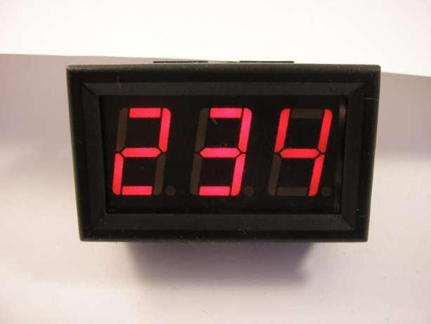 Вольтметр цифровой переменного напряжения AC 30-500V Красный