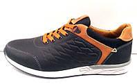 Туфли мужские Columbia полностью натуральная кожа черные C0021