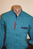 Мужская рубашка Red Polo  клетка