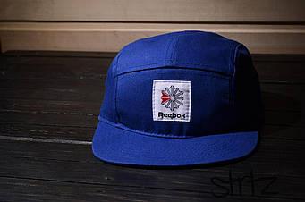 Пятипанельная кепка Reebok синяя