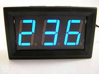 Вольтметр цифровой переменного напряжения AC 30-500V Синий, фото 1