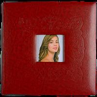 Семейный фотоальбом на 200 фотографий с книжным переплетом