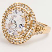 Кольцо с большим кристаллом