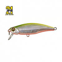 Воблер Pontoon21-DUO PREFERENCE SHAD 55F-DR, P21, 55mm, 3.9gr, 0.8-1.2m,