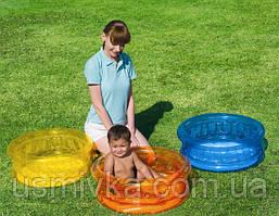 Маленький бассейн с надувным дном