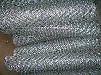 Сетка плетеная рабица из сталистой не оцинкованной и оцинкованной проволоки