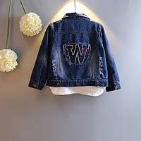 Куртка джинсовая  р.130 см