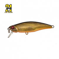 Воблер Pontoon21-DUO PREFERENCE SHAD 55F-SR, P21, 55mm, 3.3gr, 0.3-0.5m,